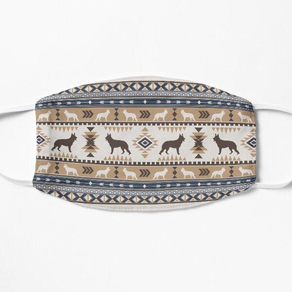 Boho dogs   German shepherd tan Flat Mask