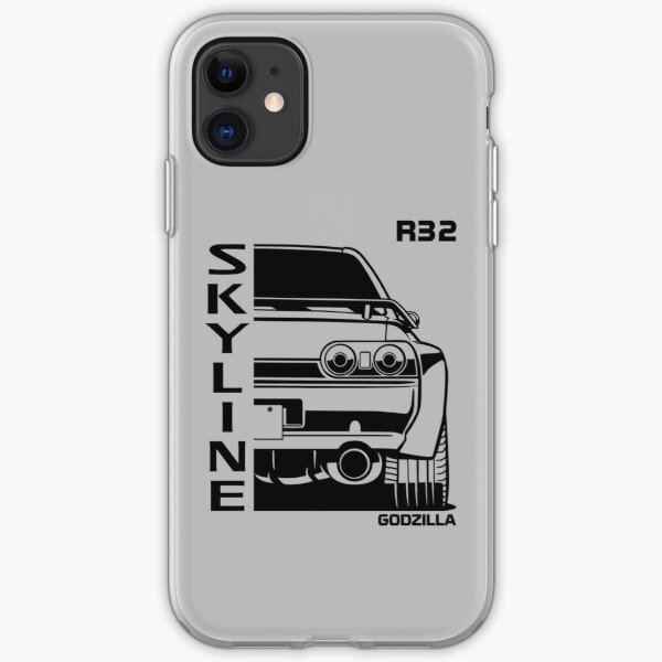 R32 Skyline GTR, Japanese Racecar, Godzilla Car, Car Lover, Car Guy, Car Fan, Car Enthusiast, Gearhead, Petrolhead, JDM Lover Gift iPhone Soft Case