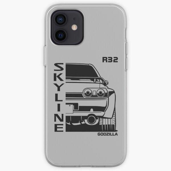 R32 Skyline GTR, Japanese Racecar, Godzilla Car, Car Lover, Car Guy, Car Fan, Car Enthusiast, Gearhead, Petrolhead, JDM Lover Gift iPhone Soft Case