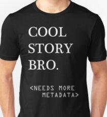 Metadata matters - white T-Shirt