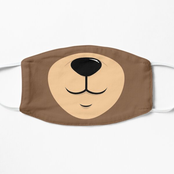 Bear Face Nose Mouth Mask