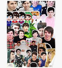 Phan Collage Poster