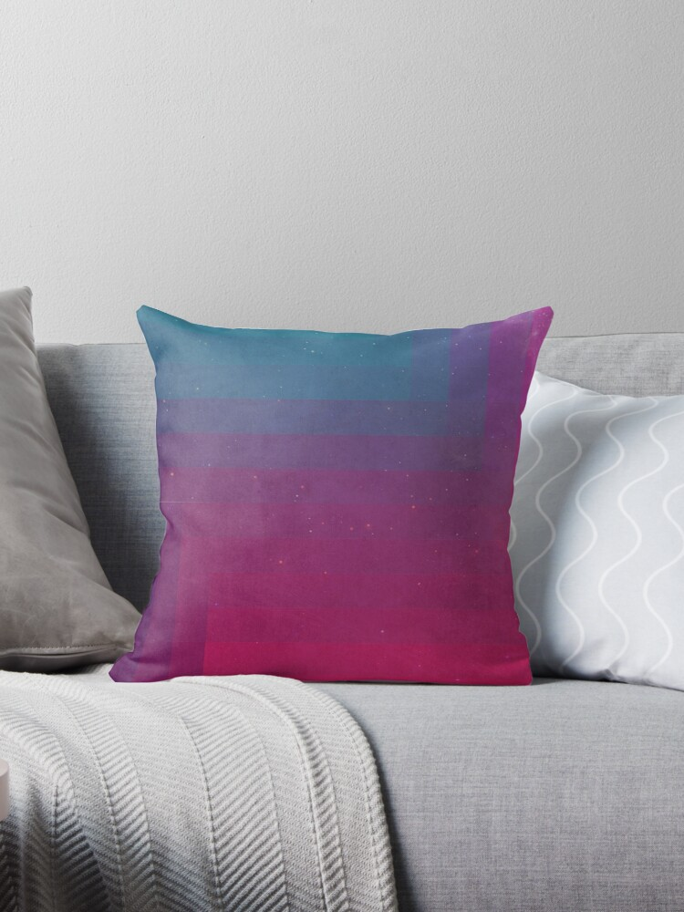 in between throw pillows by annisatiarau redbubble
