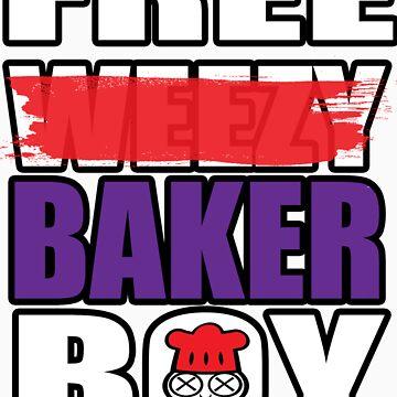 """""""FREE B-BOY"""" by BAKERBOYTEEZ"""