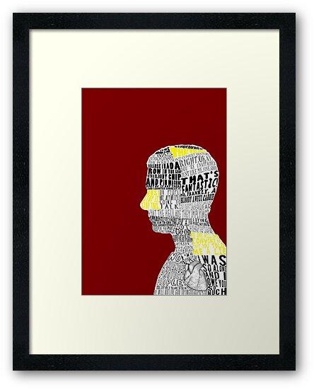 John Watson Typography Art by andersaur