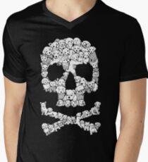 Pawsitively Bitchin' Mens V-Neck T-Shirt