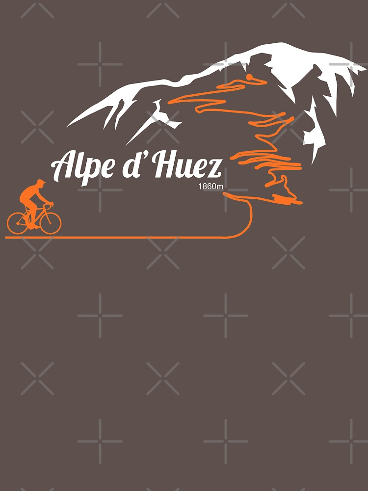 Alpe d'Huez Cycling Print by anothercyclist