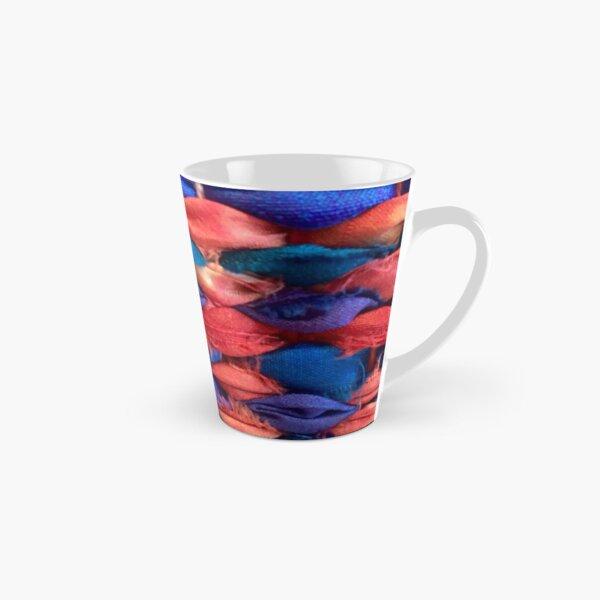 Sunset Strip Hand Woven Silk Tall Mug