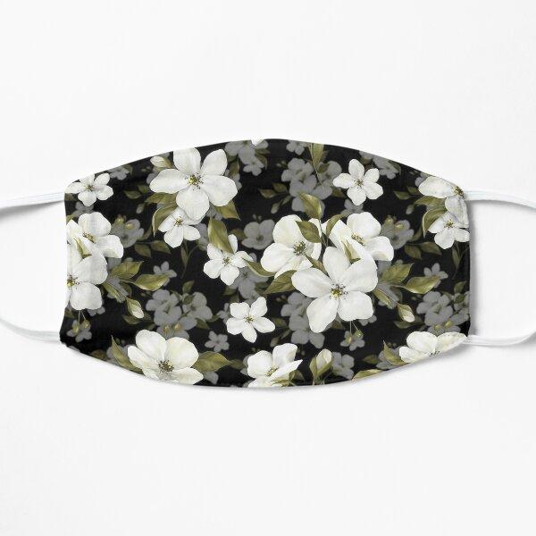 Apple flowers. Pattern Flat Mask
