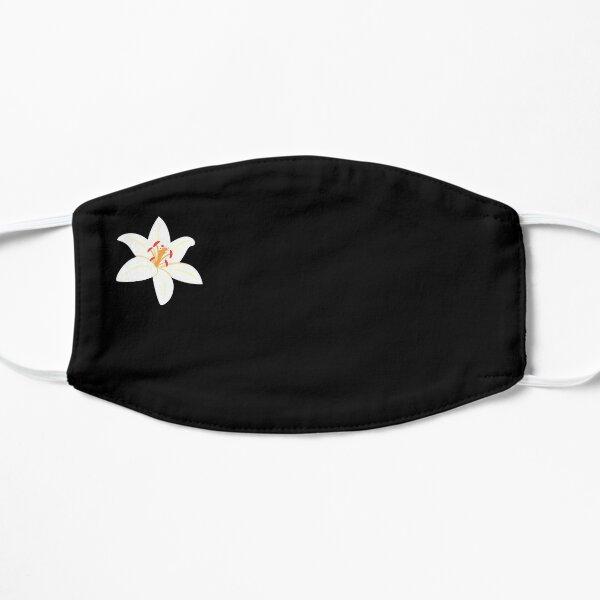 Flower mask, Jasmine flower in mask, sakura tree Flat Mask