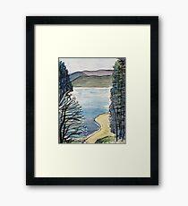 Mountain Lake Framed Print