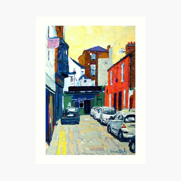 Coke Lane (Dublin, Ireland) Art Print