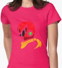 Protoman Helmet Shirt Women's Fitted T-Shirt