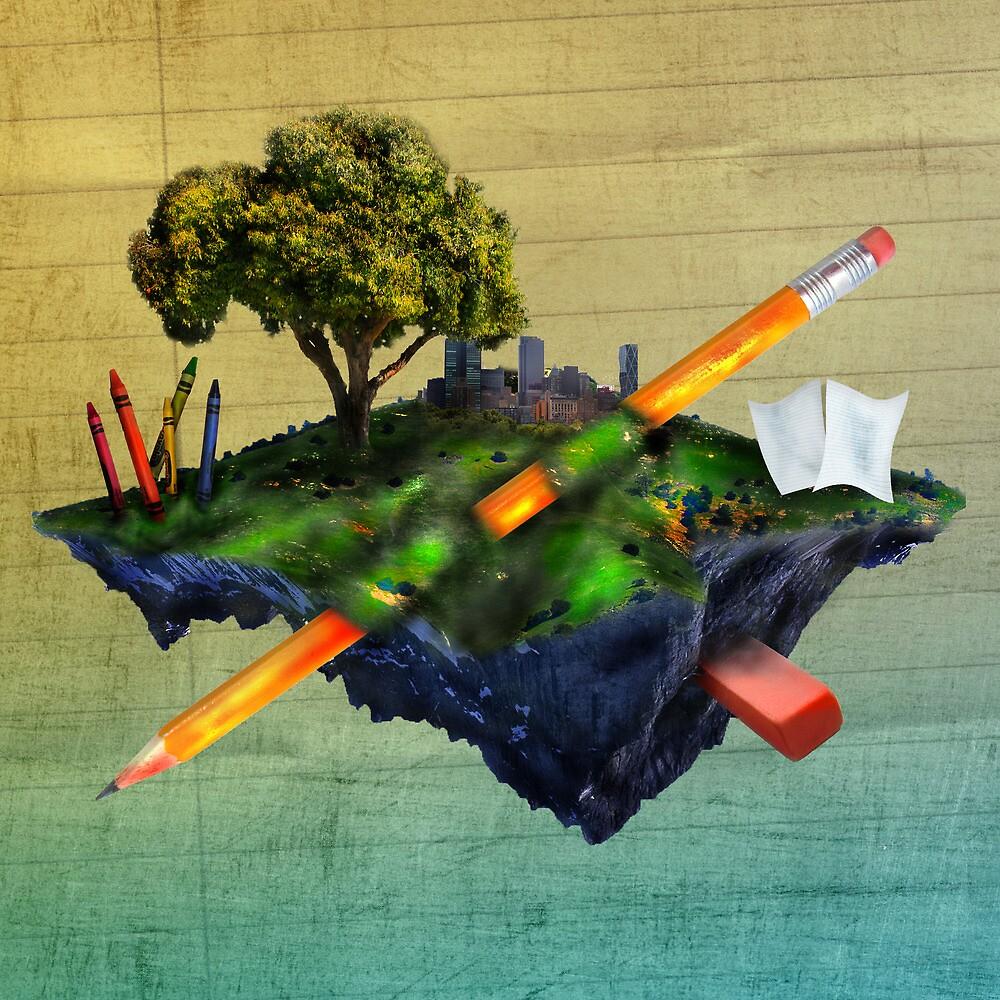 Surreal World by LukieBoy