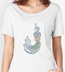 Celtic Peacock Women's Relaxed Fit T-Shirt