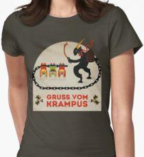 Camiseta entallada para mujer Gruss vom Krampus