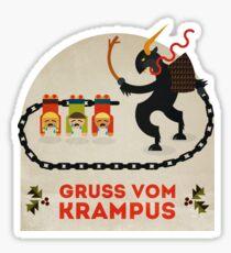 Gruss vom Krampus Sticker