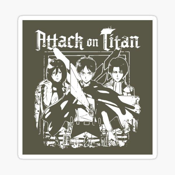 Attack on Titan Trio Crests Sticker