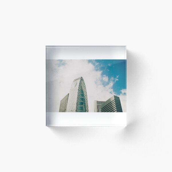 Cocoon Tower Tokyo Acrylic Block