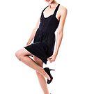 Little Black Dress Pinup by Jonathan Coe