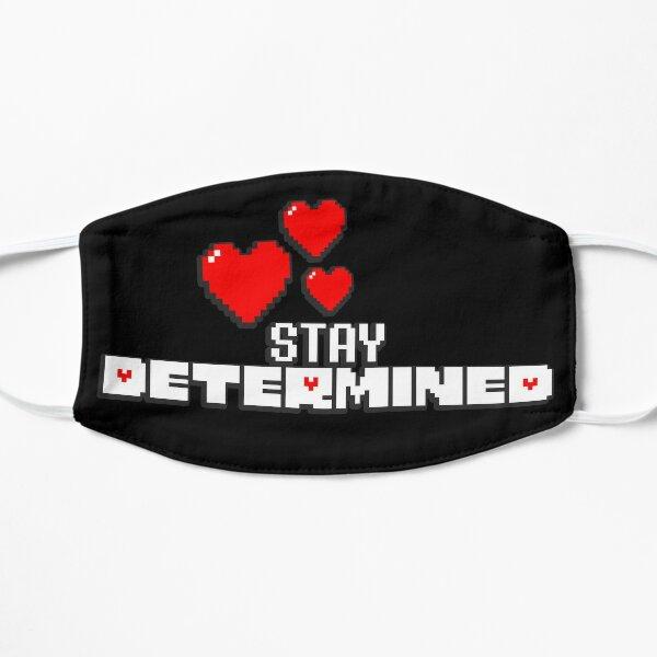 Undertale - Stay Determined Flat Mask