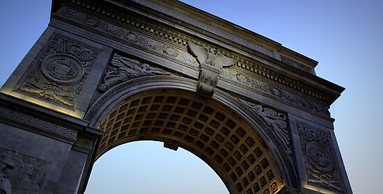 Washington Square Park Arch - Angular Crop by Amanda Vontobel Photography/Random Fandom Stuff
