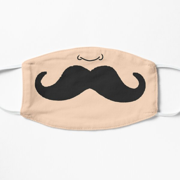 Moustache Flat Mask