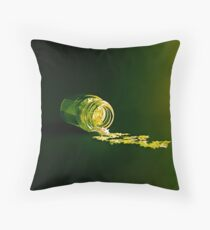 The Light That Burns Twice As Bright Throw Pillow
