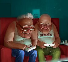 Old Gamers by Roman Shipunov