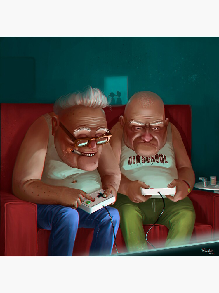 Old Gamers by Uzhazz
