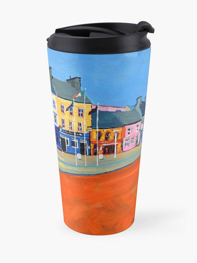 Alternate view of Clifden (County Galway, Ireland) Travel Mug