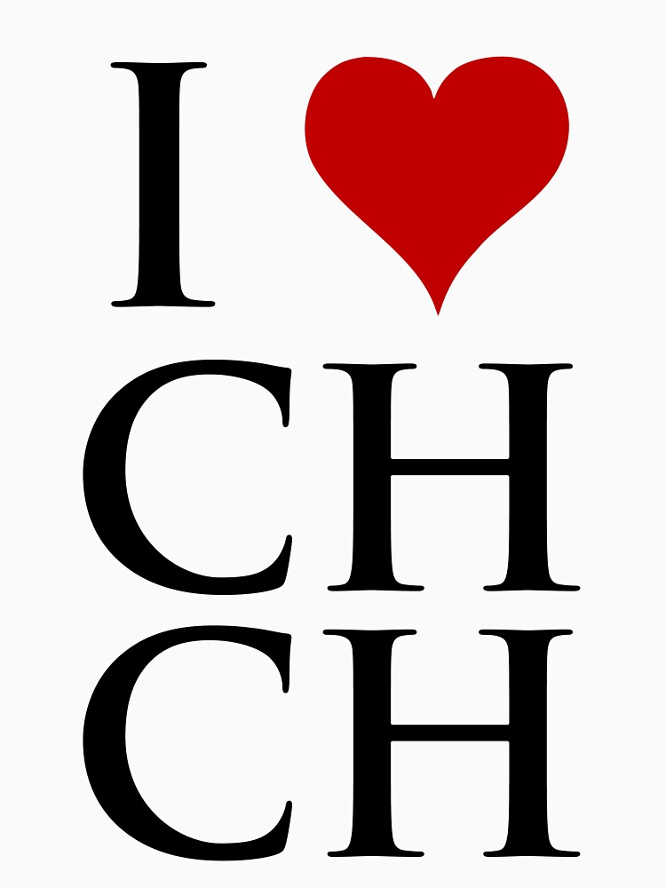 I Love Christchurch | Unisex T-Shirt