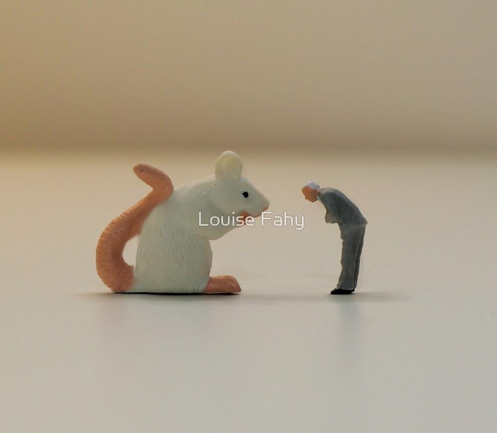 A curious encounter by Louise Fahy