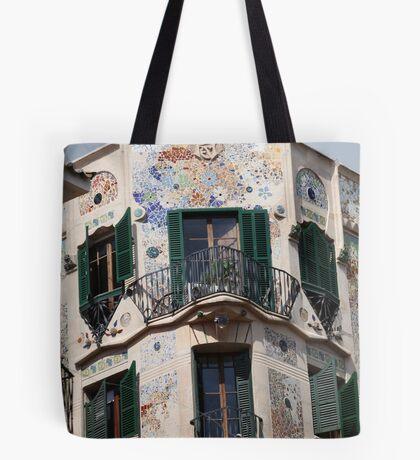 Palma  de  Mallorca:  El  edificio  Forteza  Rey  . Doctor Faustus . 2015. Tote Bag