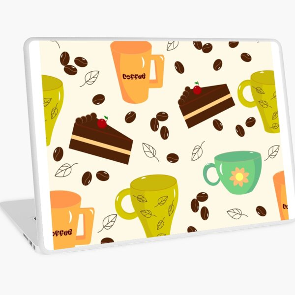 Cups and cake Laptop Skin
