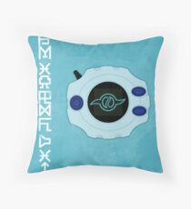 Friendship - Digivice Crest Throw Pillow