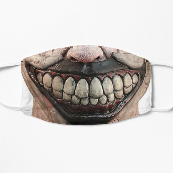 BEST SELLER - TWISTY THE CLOWN - ahs facemask Flat Mask