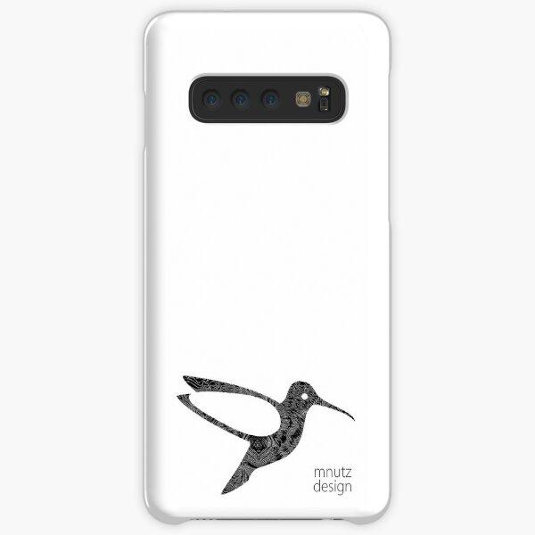 Kolibri Logo mnutzDesign - Isolinien Samsung Galaxy Leichte Hülle