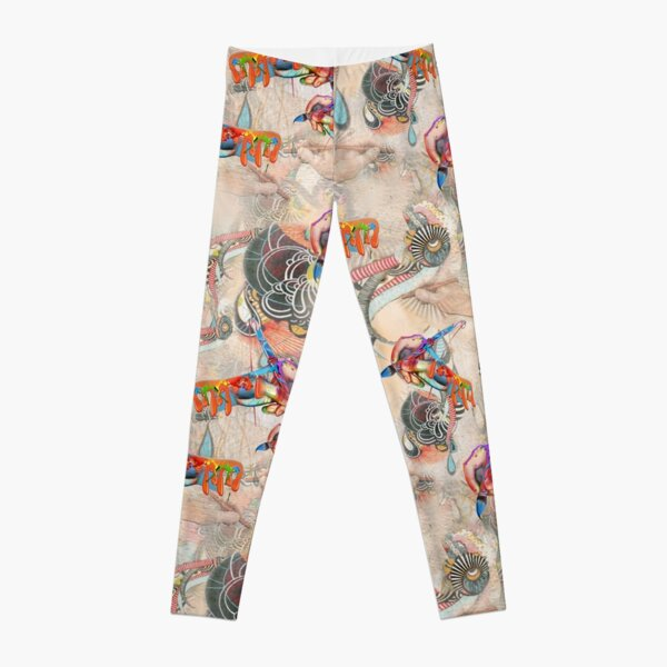 Awakening The Language of Light through Art Leggings