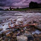 Hutt River Storm Torment by Ken Wright