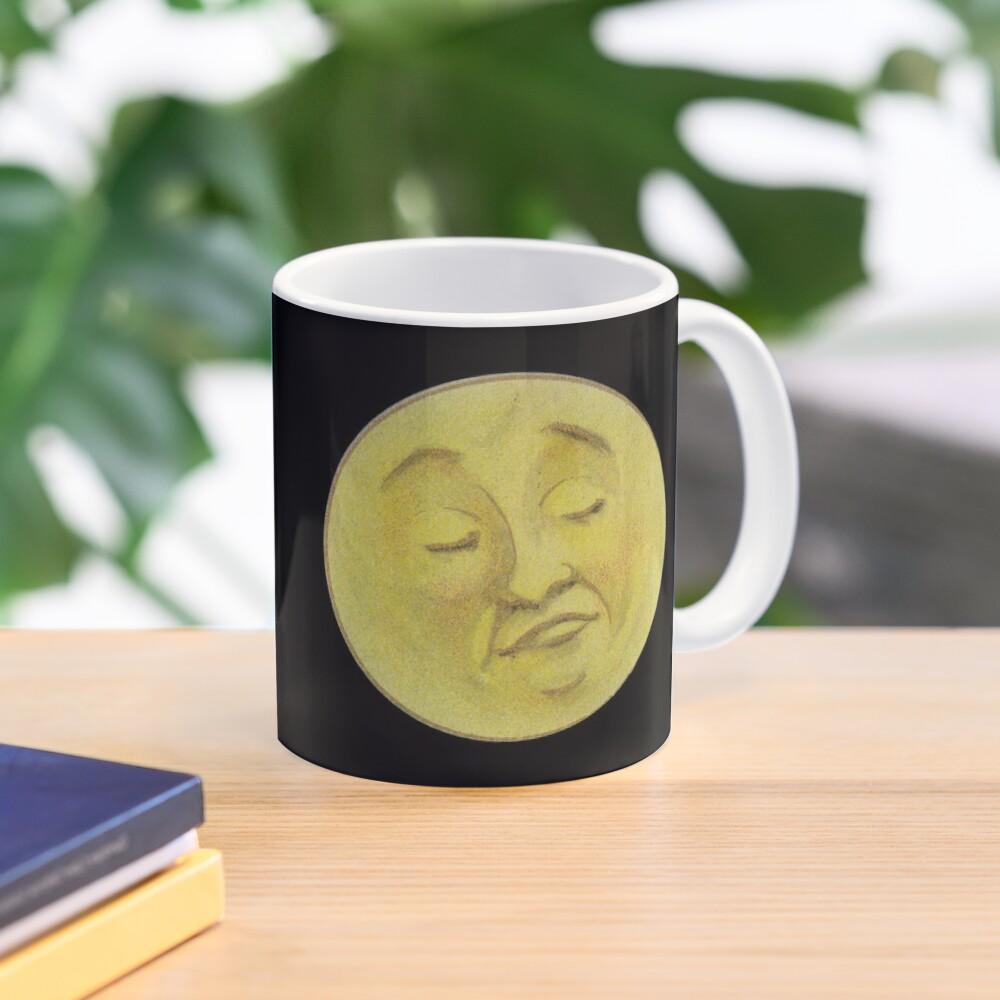 Vintage Man On The  Moon Mug