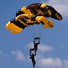 Golden Knights Tandem Jumpers by Anthony Roma