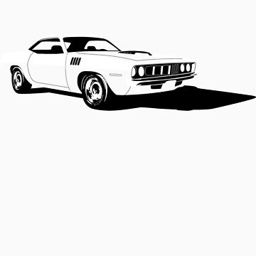 Plymouth Hemi 'Cuda by ghost650