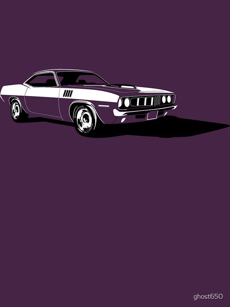 Plymouth Hemi 'Cuda by ghost650