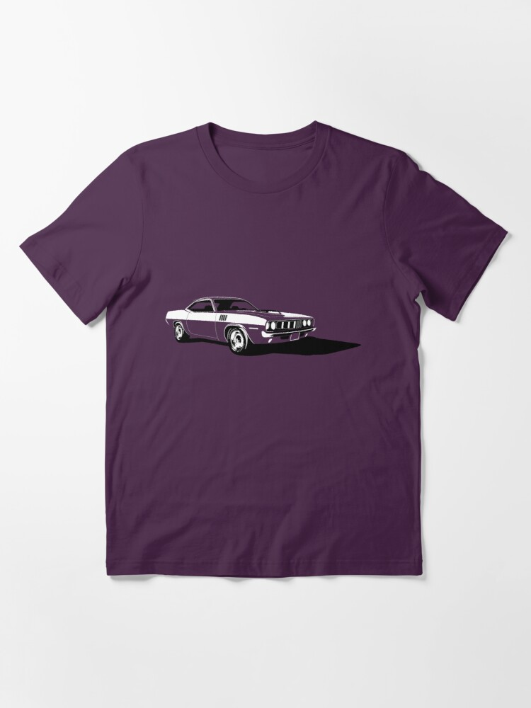 Alternate view of Plymouth Hemi 'Cuda Essential T-Shirt