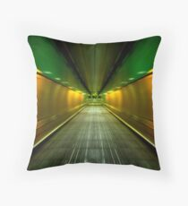 Underground Heathrow Throw Pillow