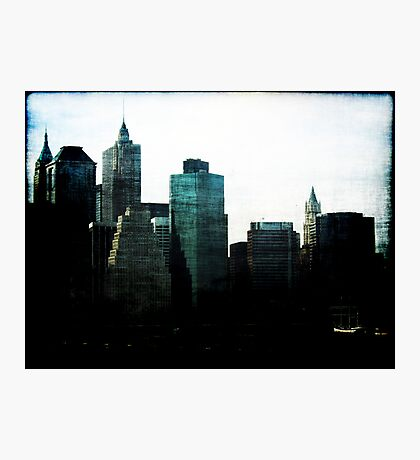 New York Facades Photographic Print