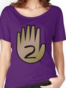 2 Hand Book From Gravity Falls Women's Relaxed Fit T-Shirt