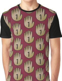 1 Hand Book From Gravity Falls Graphic T-Shirt