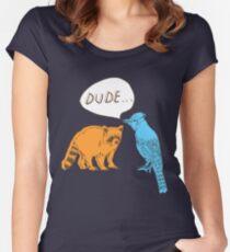 Regular Shirt Women's Fitted Scoop T-Shirt